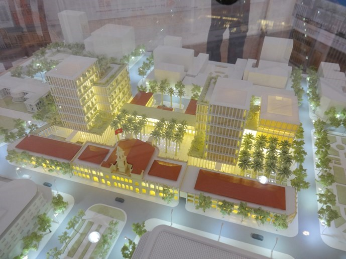 Japanese firm 39 s design selected for hcmc new for Japanese architecture firms