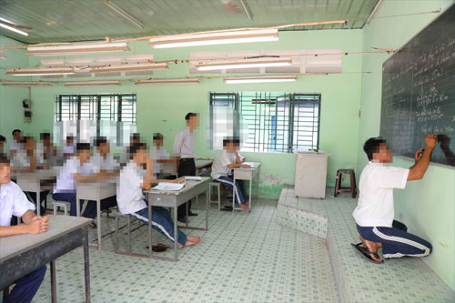 An average day at a Ho Chi Minh City rehab center