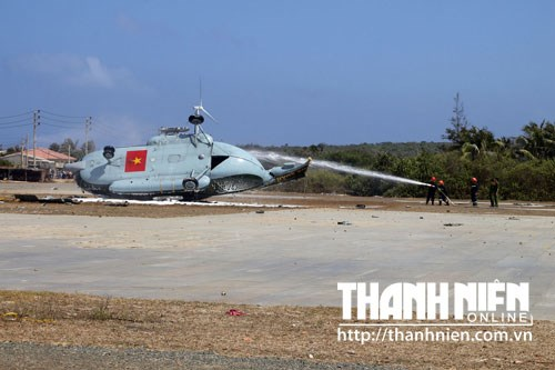 Military helicopter crashed due to strong winds, not explosion: Vietnam colonel